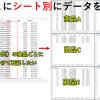 Googleスプレッドシートのデータ転記|GASプログラムで商品名ごとに新しいシートへ移動