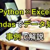 Python×Excel|Pandasデータ処理の事例25!時系列(月週)から特定条件での分析まで